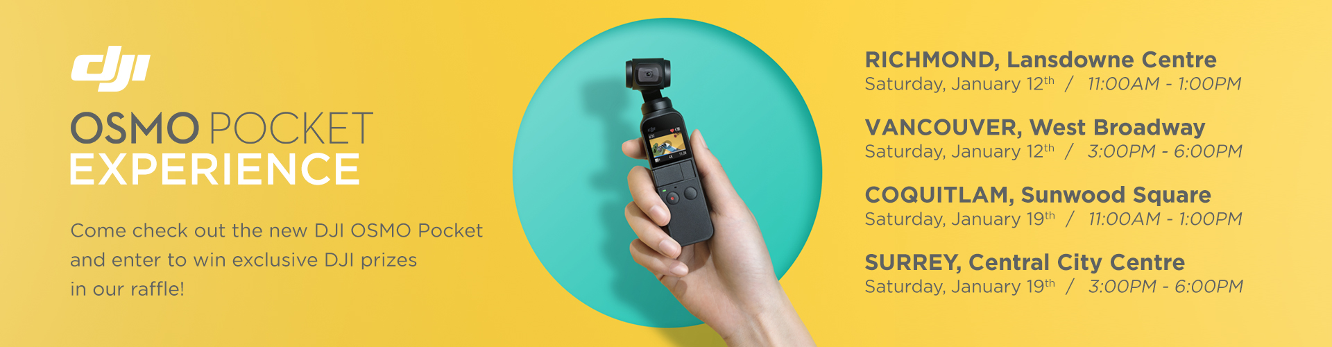 The DJI Osmo Pocket experiece